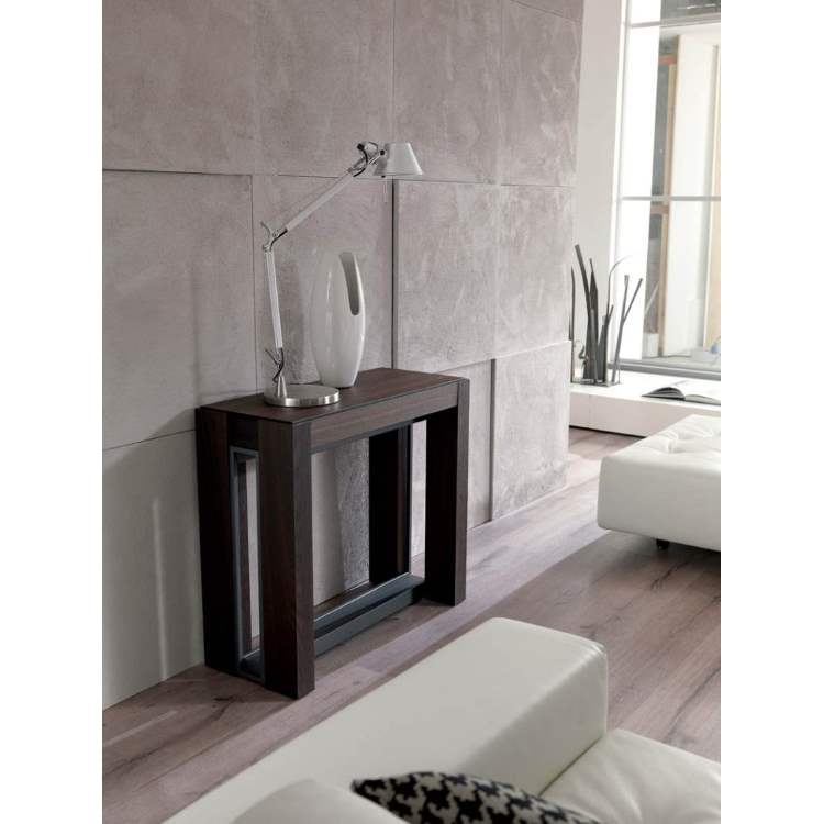 expandable console table made in italy