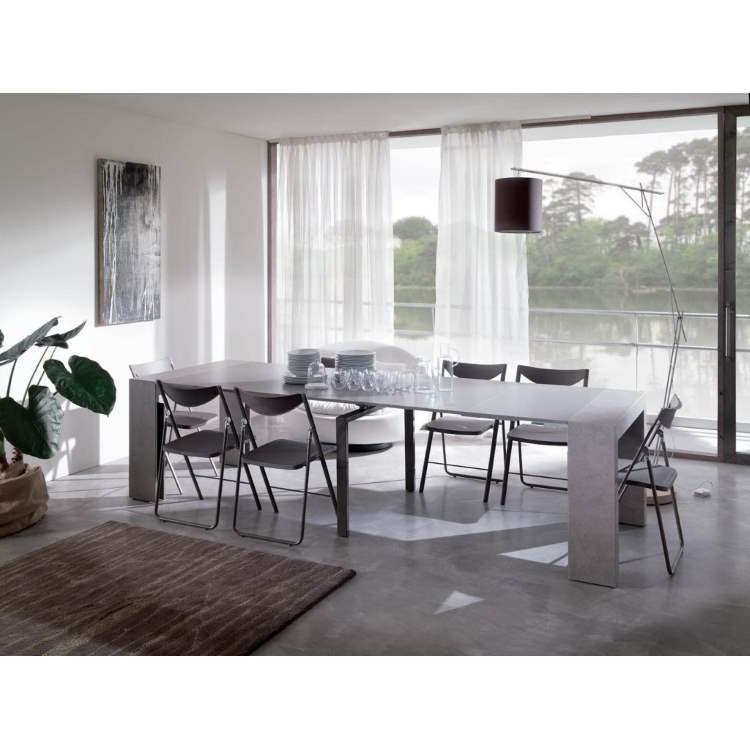 Dining room with luxury furniture