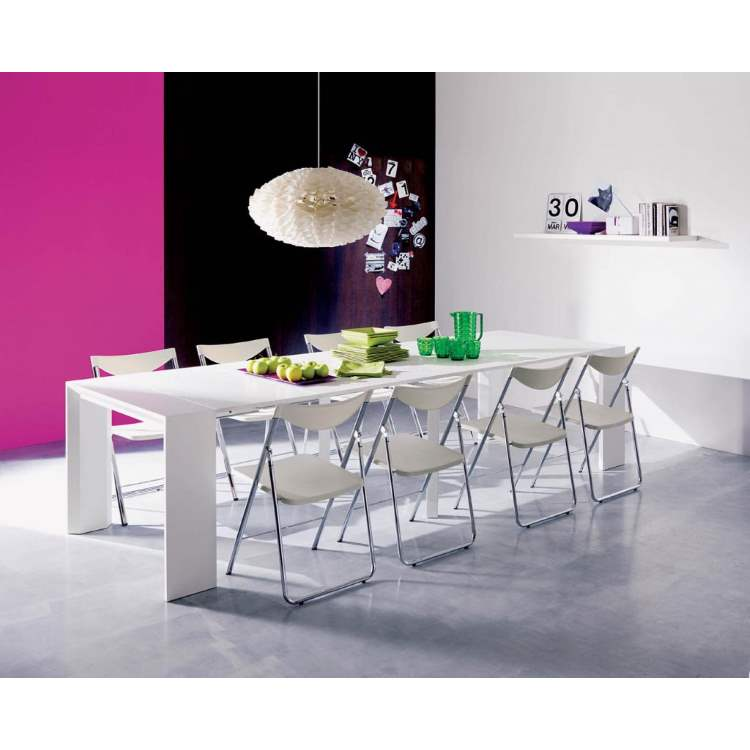 modern italian dining table