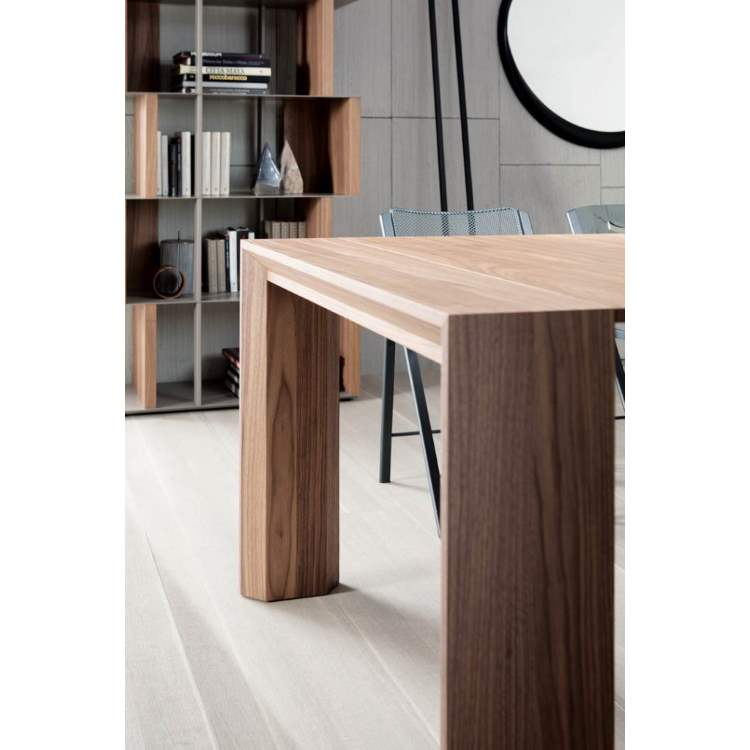 wooden expandable console table