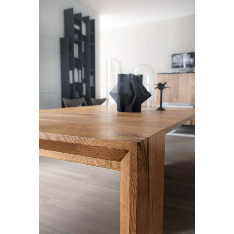 wooden italian table