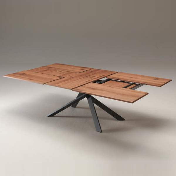 Ozzio Italia expandable table in various configurations