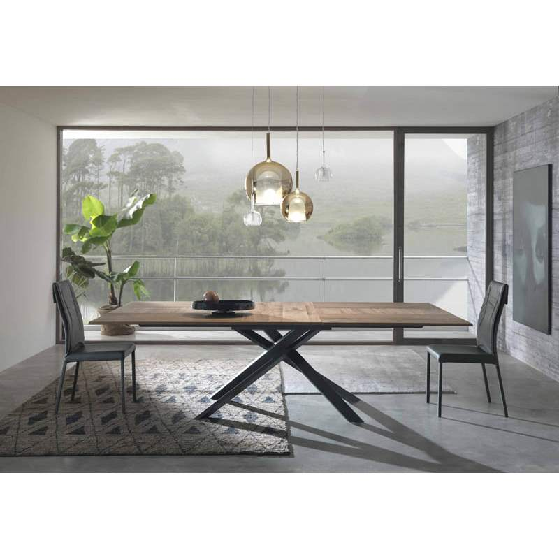 Ozzio Italia table in dining room