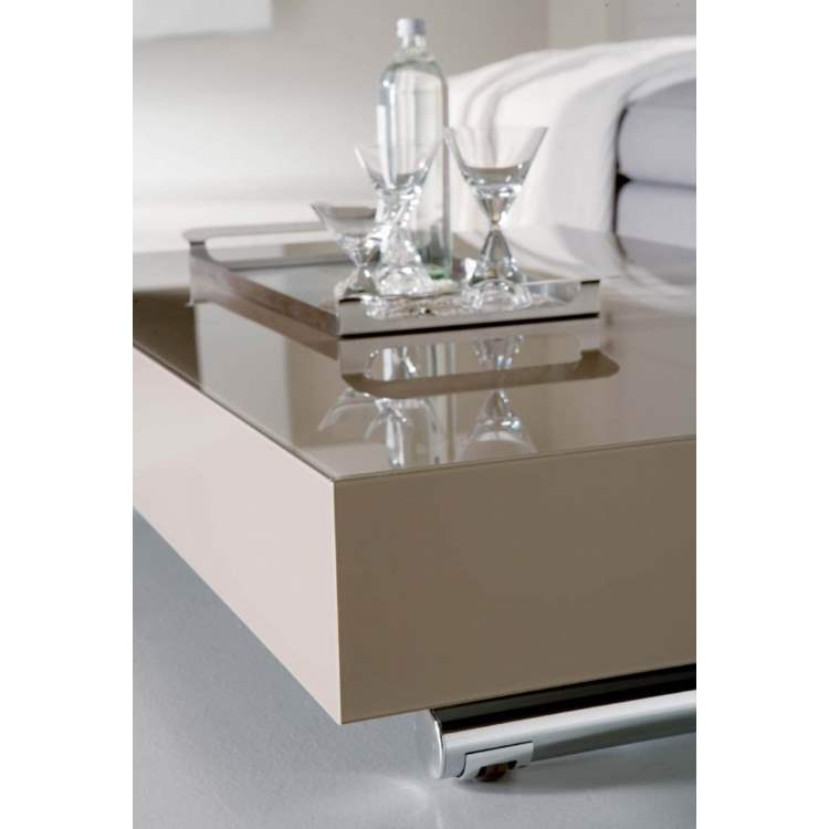 Close view of Designer Italian coffee table