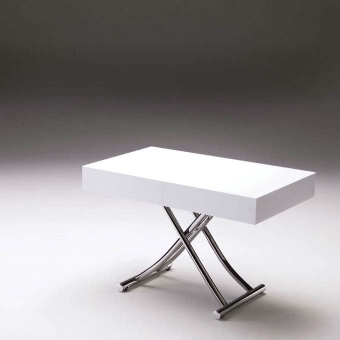 Magnum - white coffee table made in Italy by Ozzio Italia