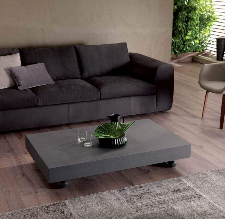 Couch with Italian coffee table
