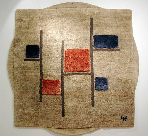 Pierre Paulin - Dutchman - Modern rug designed by Pierre Paulin