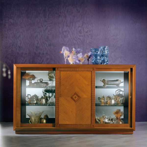 """Arte"" sideboard with crystal CR25"