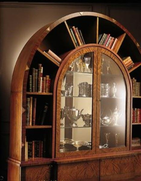Vitrine bookcase 'Arco Due' VL671