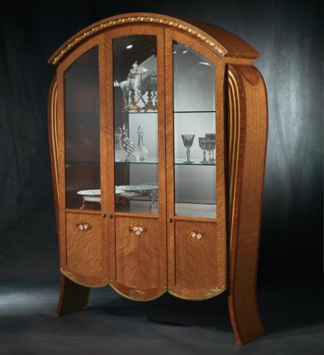 Vanity glass cabinet VE38