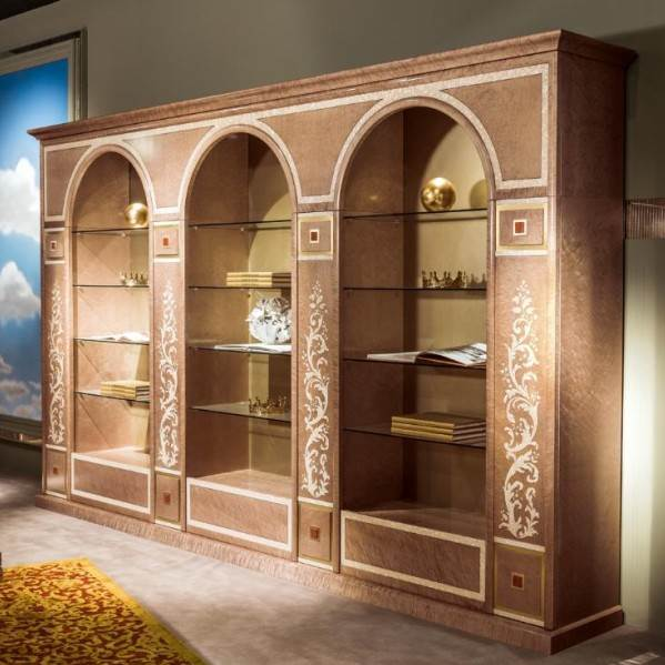 3 Arches inlaid cabinet LB35