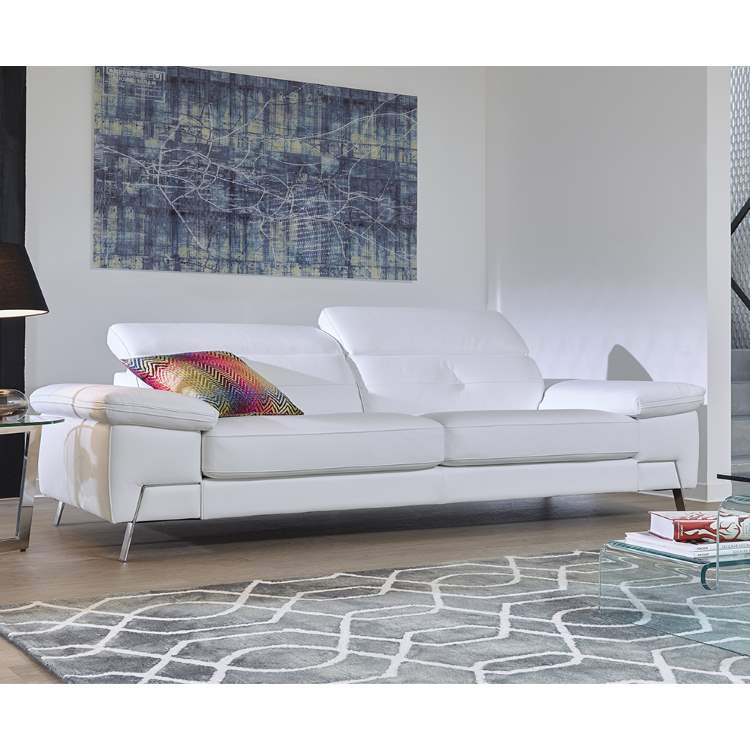 White Sorrento Sofa | italydesign.com