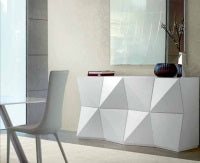 Origami Buffet - Luxury modern wall system by Reflex made in Italy