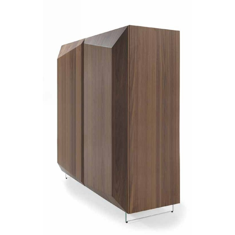 Prisma Madia - High-end wooden cabinet made in Italy by Reflex