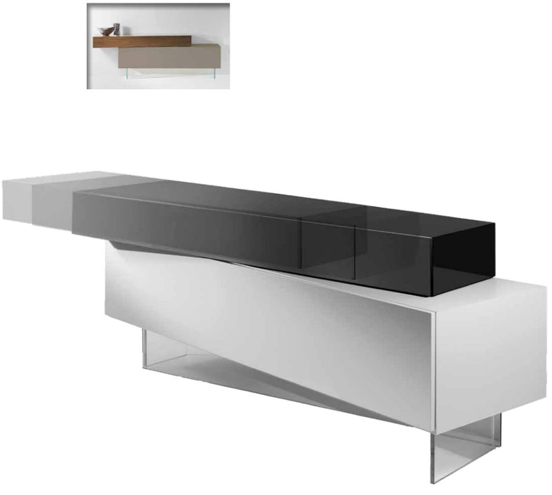 Modern buffet made in Italy by Reflex