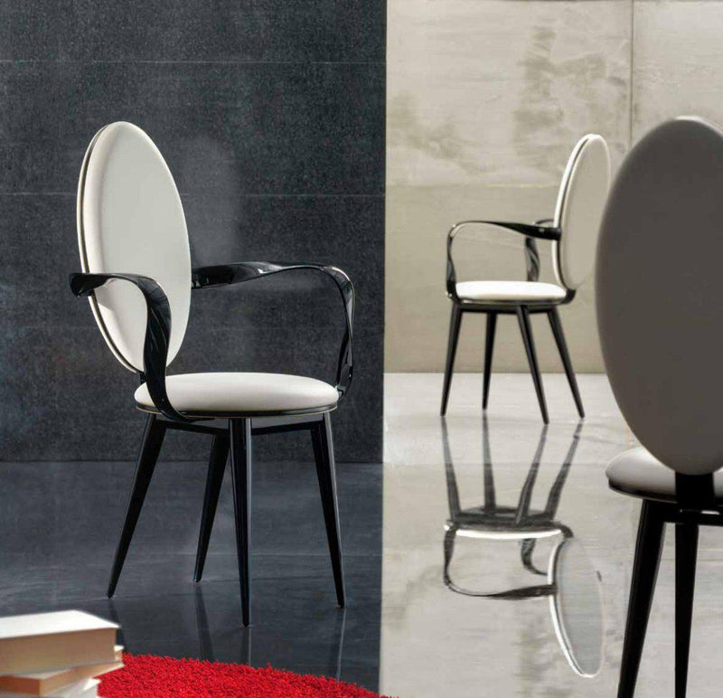 Bastide Collection - Luxury  dining chair by  Reflex  made in Italy