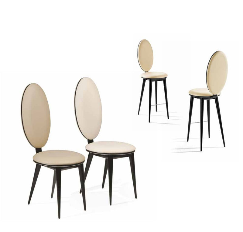 Bastide Collection luxury dining chairs made in Italy
