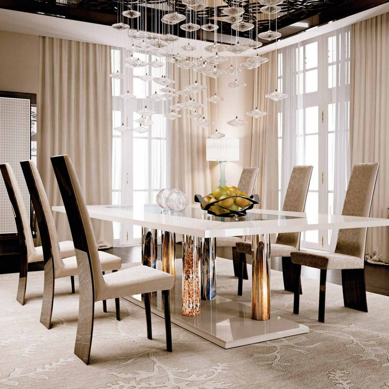 Italian dining room full of luxury furniture