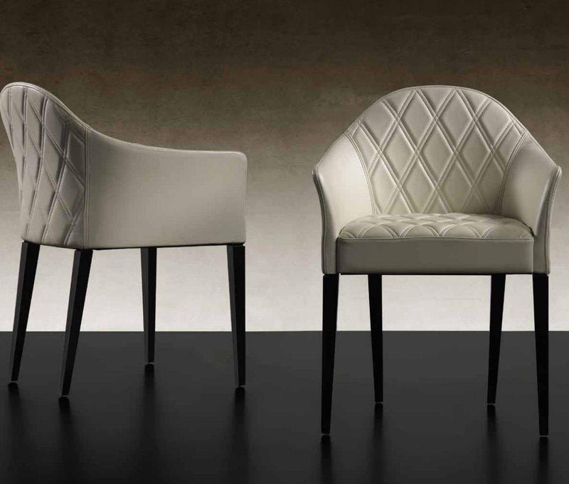 Peggy - High-end dining chairs made in Italy by Reflex
