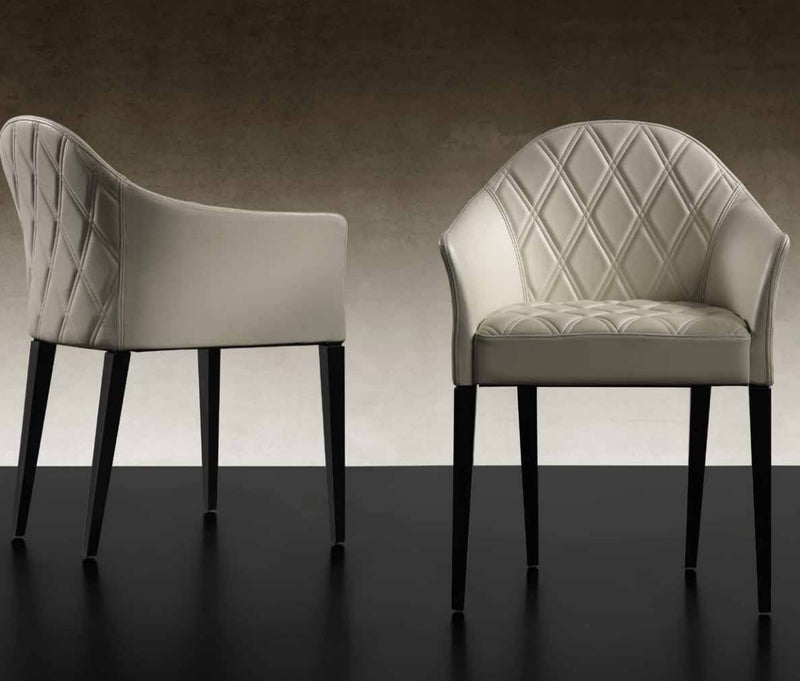 Peggy - white luxury dining chairs