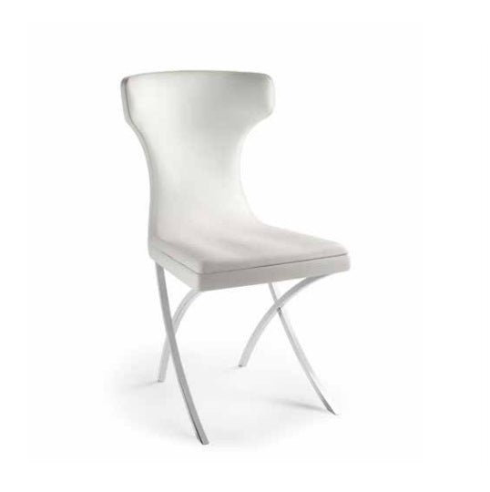 Venezia - luxury chair in white, made in Italy by Reflex
