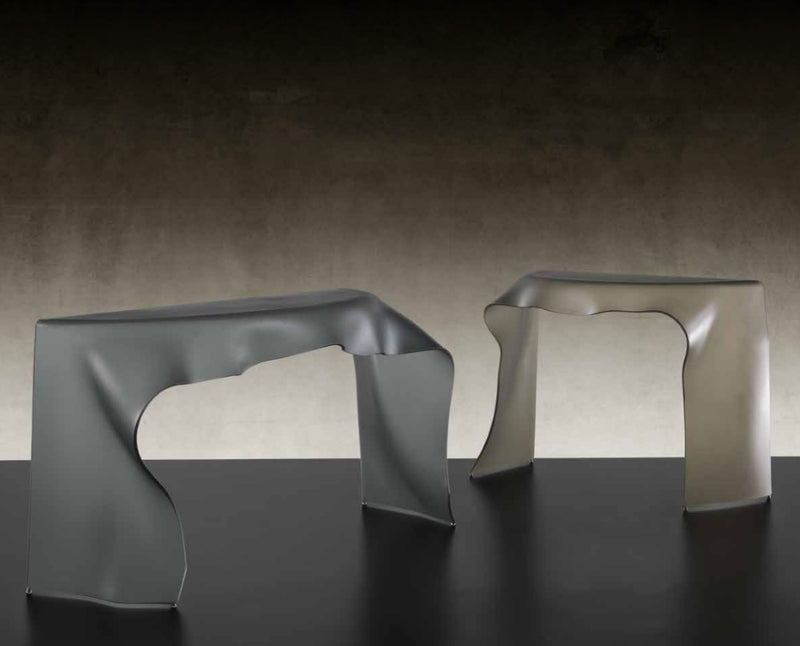Foulard Console - Luxury console table  with  Murano glass by Reflex