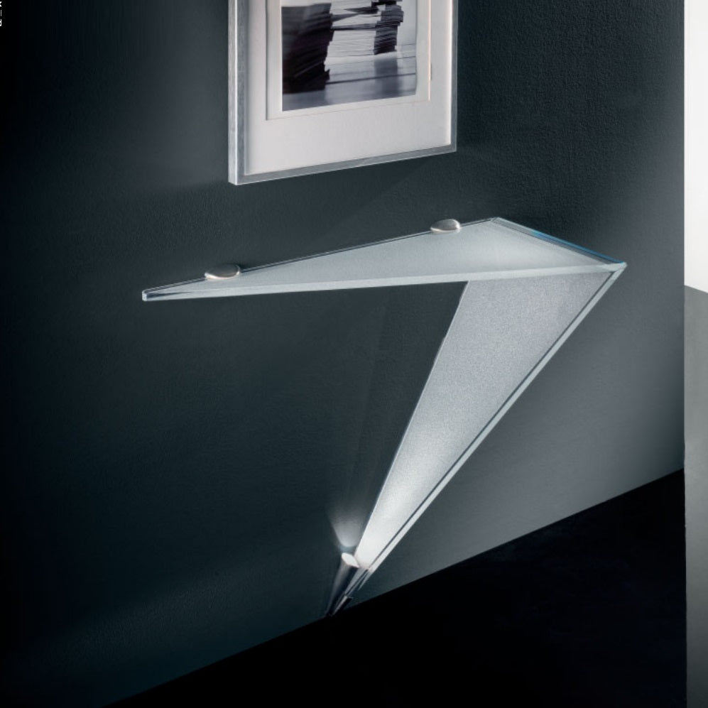 Luxury Modern Glass console by Reflex made in Italy