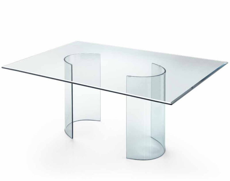 Air XGlass Table Ebano Polished XGlass