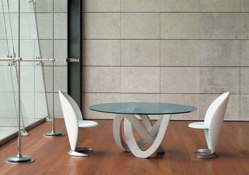 Andromeda 72 - High end round dining table by Reflex