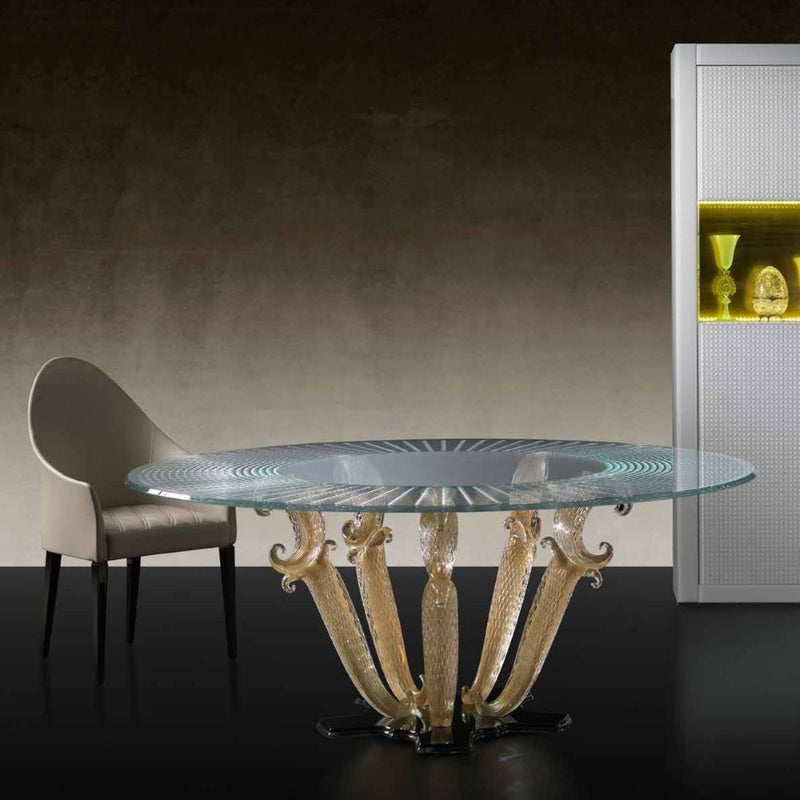 Casanova 72 - designer luxury dining table made in Italy by Reflex