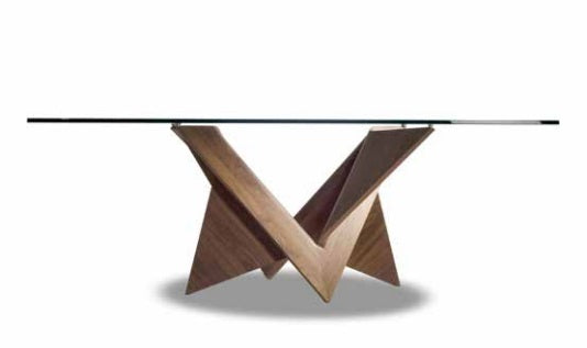 Luxury dining table made in Italy by Reflex