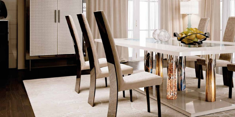 Designer luxury dining table made in Italy by Reflex