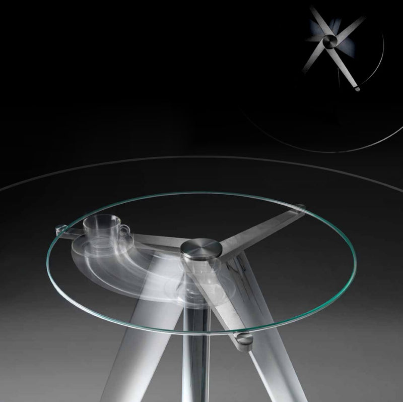 Lem Con Lazy Susan Luxury dining table by Reflex Close up