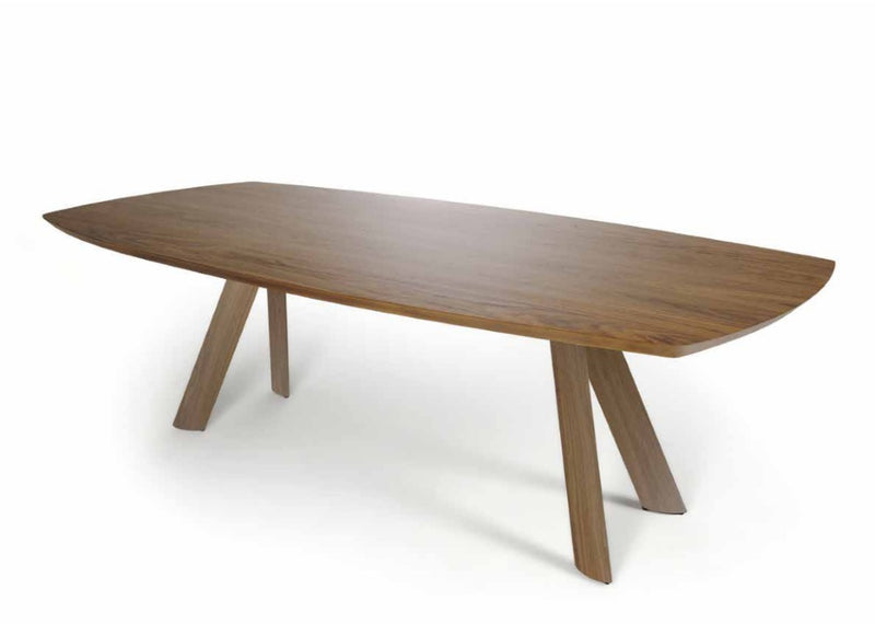 wooden dining table made in Italy by Reflex