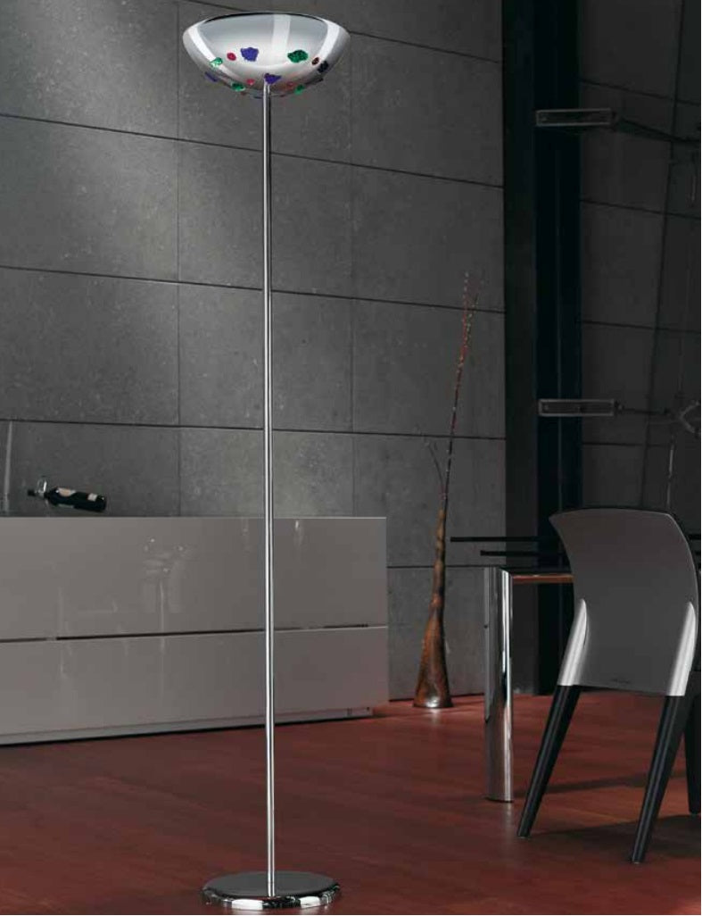Uccello Di Fuoco Collection - Murano glass floor lamp