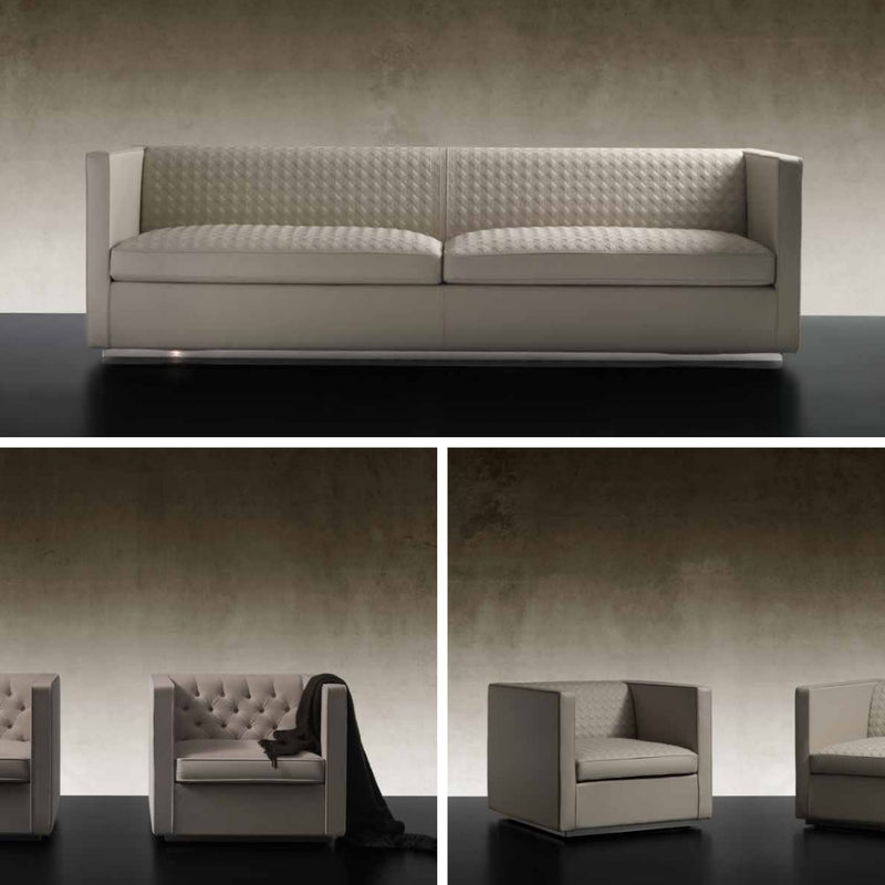 Avantgarde Sofa Collection - High end sofa and accompanying chairs by Reflex