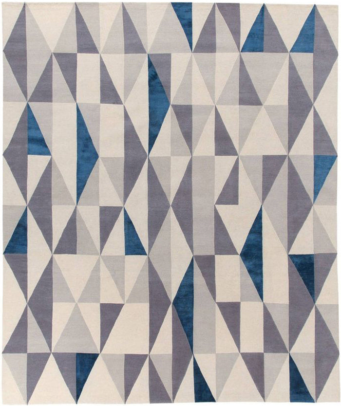 Diamantina - Modern  rug designed by Gio Ponti