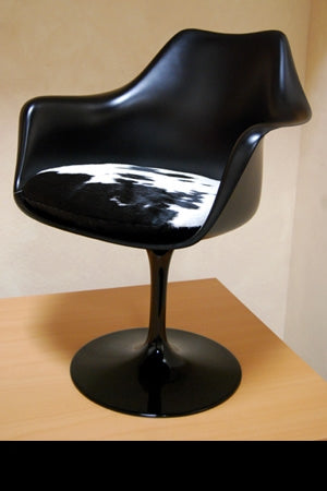 Designer black Italian chair