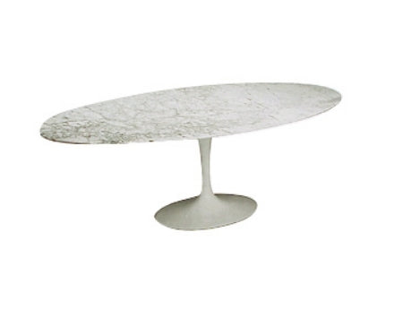 Eero Saarinen Dining Table with marble top