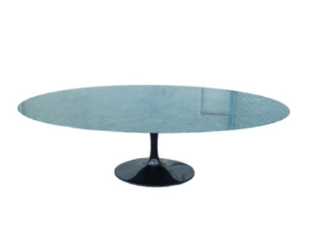 Eero Saarinen Dining Table with blue marble