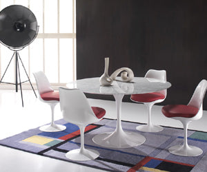 Eero Saarinen Dining Table - luxury Italian furniture