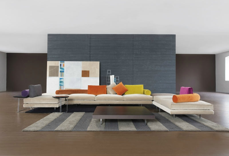 Italian Designed Room with Luxury modern modular sofa by Il Loft made in Italy