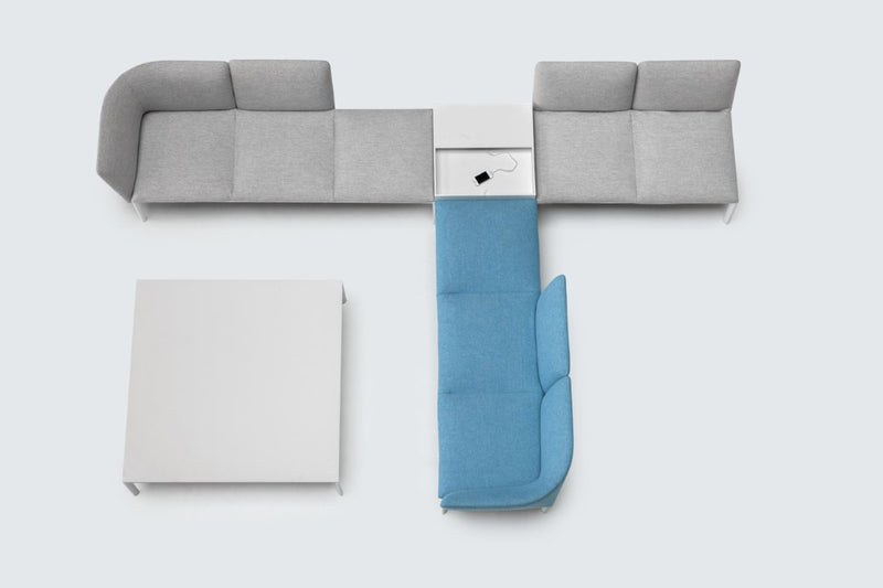 large modular sofa system by Lapalma and made in Italy