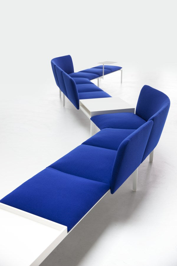 ADD Modular Sofa System - dark blue and white Italian sofa
