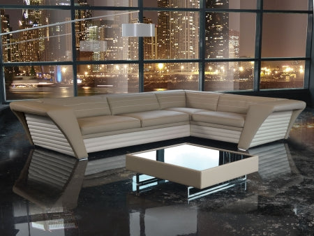 Avatar Sofa - Modern  Luxury leather sectional by Formenti Divani  made in Italy