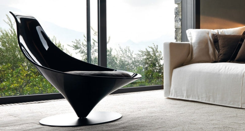 Black Coco Chair in Italian living room