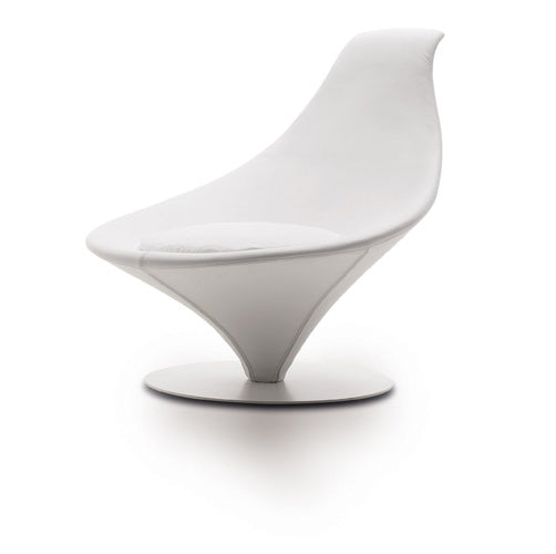front view of white Italian Coco chair