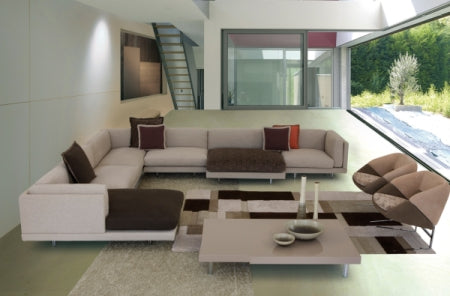 Modern Luxury sectional by Il Loft made in Italy