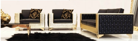 Museo Sofa in black