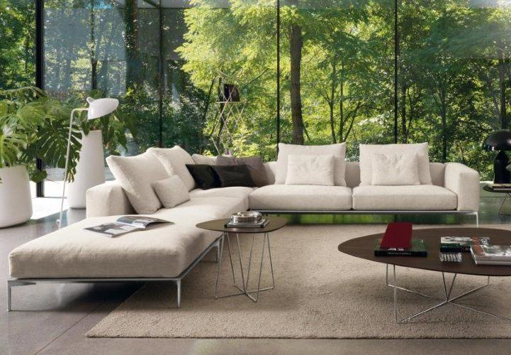Savoye Sectional - Modern sectional sofa made in Italy by Désirée